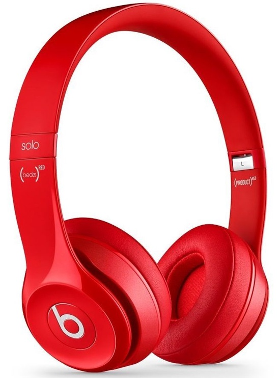 Beats Solo2 Wireless Headphones Red