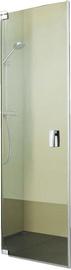 Palme Valletta XO Shower Doors 1000x2000mm Chrome/Transparent