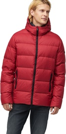 Audimas Mens Down Jacket Rio Red L
