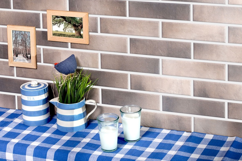 Cerrad Facade Tiles Retro Brick Pepper 24.5x6.5cm