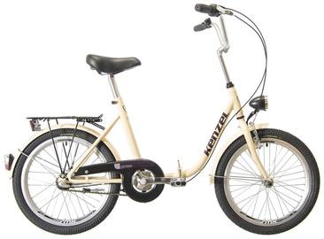 "Jalgratas Kenzel Camping, liivakarva pruun, 16"", 20"""