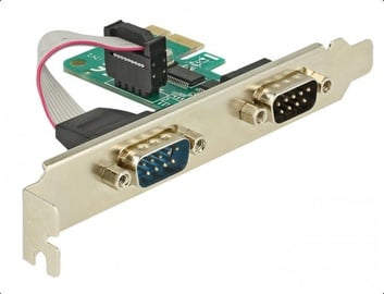 Delock PCIe To 2x Serial RS-232