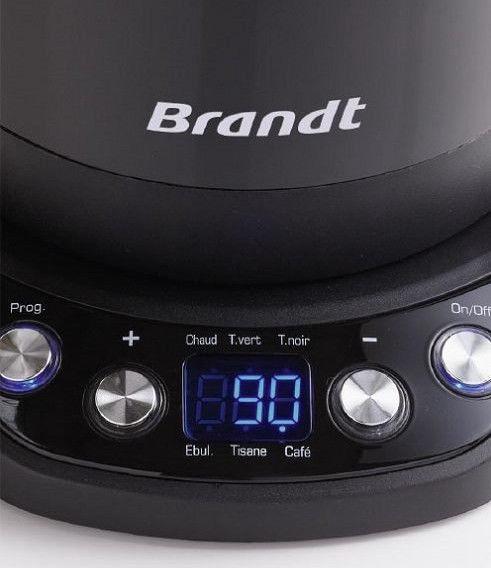 Elektriline veekeetja Brandt BO1200 Black