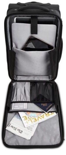 Kensington SecureTrek Overnight Roller Laptop Bag 17 Black