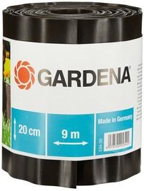 Gardena Grass Border Dark Brown 0.20x9m