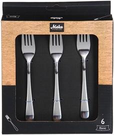Maku Basic Dessert Fork Set Of 6Pcs