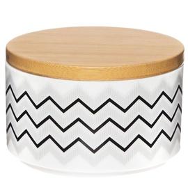 Maku Storage Bin Porcelain/Bamboo 10x6.5cm 010035