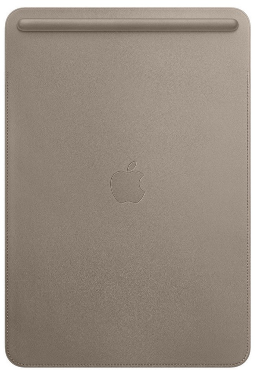 """Apple Leather Sleeve For 10.5"""" iPad Pro Taupe"""