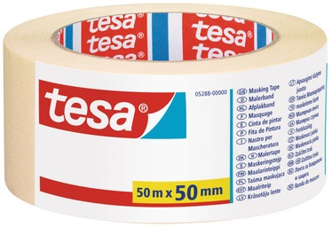 Tesa Painters Tape Yellow 50m x 50mm