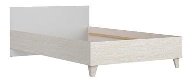 Детская кровать Black Red White Stanford LOZ120 Light Grey/Plywood, 204x125 см