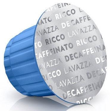 Lavazza Decaffeinato Ricco Coffee Capsules 5g 10pcs
