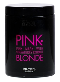 Juuksemask Profis Pink Blonde Mask With Strawberry Extract, 1000 ml