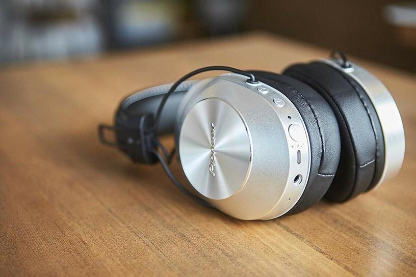 Kõrvaklapid Pioneer SE-MS7BT Silver, juhtmevabad