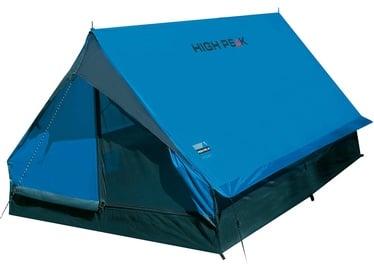 Kahekohaline telk High Peak Minipack 2 10155, sinine/hall