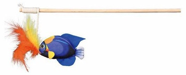 Trixie Playing Rod With Fish & Feathers 30cm