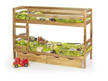 Двухъярусная кровать Halmar Sam Alder, 198x87 см