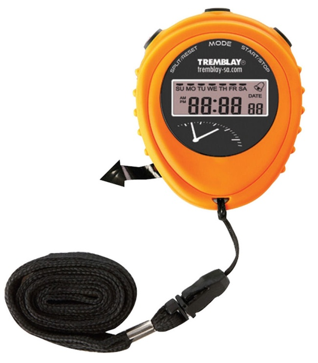 Tremblay CHRO14 Stopwatch Orange