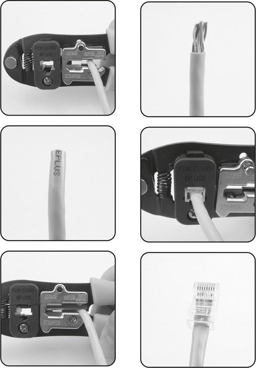 Yato YT-2242 Ratchet Crimping Pliers 195mm