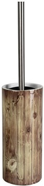 Ridder Woody T Toilet Brush Brown