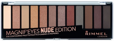 Lauvärv Rimmel London Magnif'Eyes Eye Contouring Palette Nude Edition, 14 g