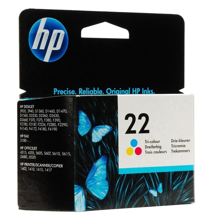 HP 22 Tri-Colour