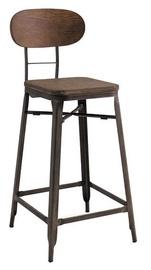 Барный стул Signal Meble Lope Walnut/Graphite, 1 шт.