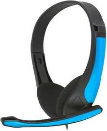 FreeStyle FH4088O Universal Headset w/Microphone Black/Blue