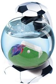 Аквариум Tetra Cascade Globe Football, черный, 6.8 л, оборудованный