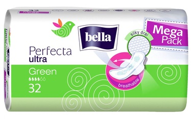 Bella Perfecta Ultra Green Sanitary Pads 32pcs
