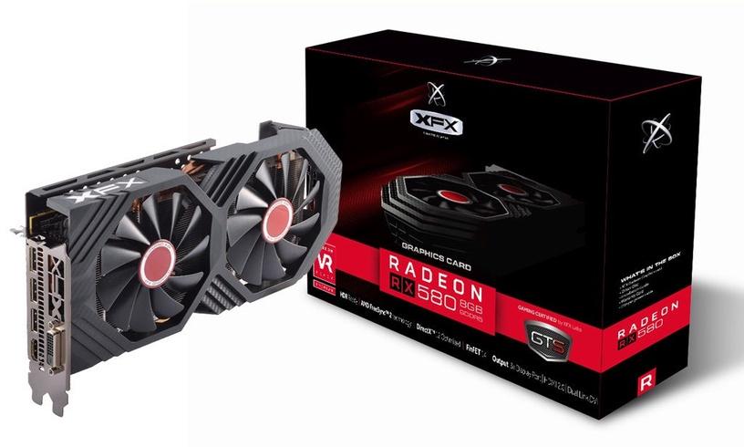 XFX Radeon RX 580 GTS XXX Edition 8GB GDDR5 PCIE RX-580P8DFD6