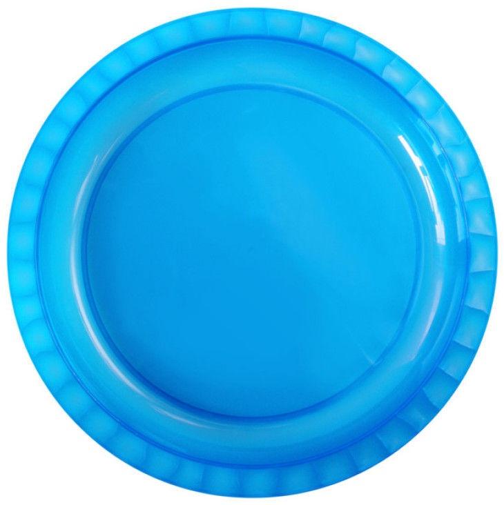 Gio'Style Trippy Flat Plate Ø26,5cm Blue