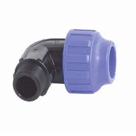 STP Fittings 707026 Connector 90° 25mm