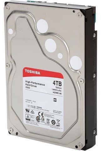 Toshiba X300 4TB 7200RPM SATA III 128MB HDWE140EZSTA