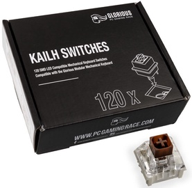 Glorious PC Gaming Race Kailh Brown Switches 120pcs