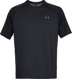 Under Armour Tech 2.0 Short Sleeve Shirt 1326413-001 Black L