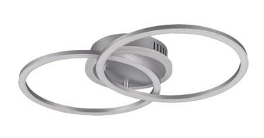 Trio Venida titaani värvi LED-valgusti, 25W, 2600lm, 3000K, kolmeastmelise lüliti hämardamise funktsioon