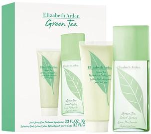 Komplekt naistele Elizabeth Arden Green Tea 100 ml EDP + 100 ml Body Lotion