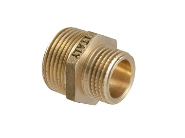 "TDM Brass Adapter I/I 1/2""x1/4"""