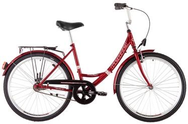 "Jalgratas Kenzel My Lady, punane, 18"", 26"""
