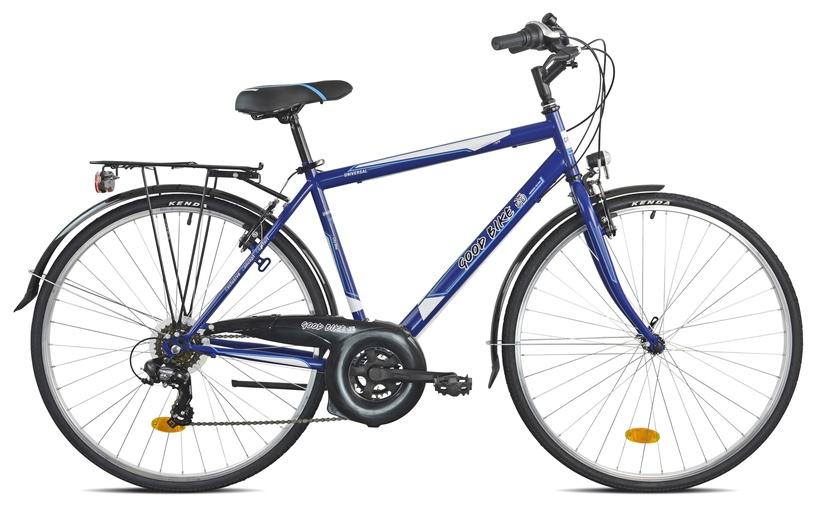"""Jalgratas Bottari Good Bike Oxford, sinine/hall, 19.5"""", 28"""""""