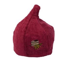 Namu Tekstile Sauna Hat Red