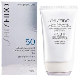 Päikesekreem Shiseido Urban Environment UV Protection Cream Plus SPF50, 50 ml