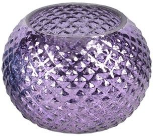 Verners Candle Holder 12.5x9cm Purple