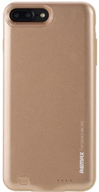 Remax 2in1 Rechargeable Battery And Back Case For Apple iPhone 7 Plus 3400mAh Gold