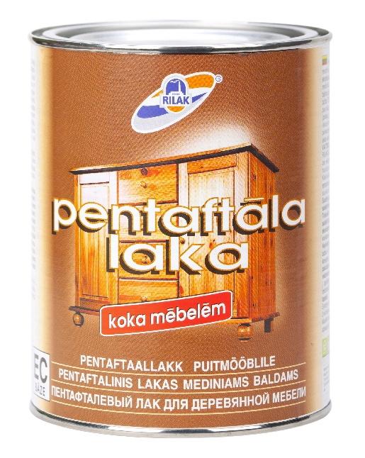 Rilak Pentaftal Varnish For Wood Furniture 1l EC Base