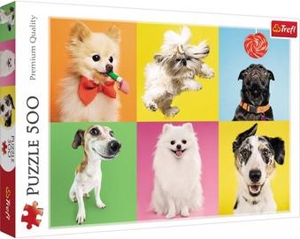 Pusle Trefl Dogs 37378, 500 tk