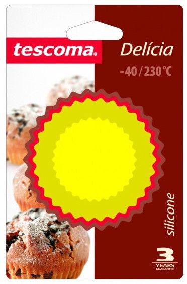 Tescoma Delicia Silicone Baking Cups 7cm 6pcs