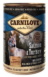 Carnilove Adult Dog Wild-Origin Real Meat Salmon & Turkey 400g