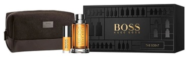 Hugo Boss The Scent 100ml EDT + 8ml EDT + Cosmetic Bag