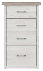 Black Red White Luca Baby Chest Of Drawers Sibiu Larch/Sonoma Oak
